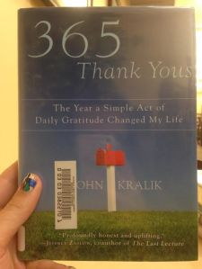 365 Thank You's cover image