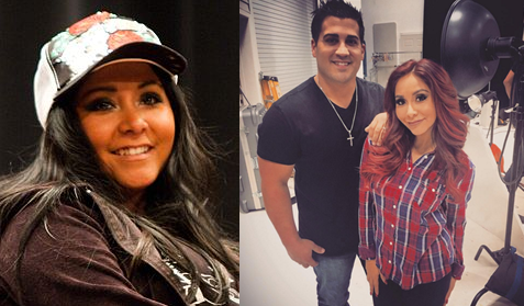 "Nicole ""Snooki"", then vs now"