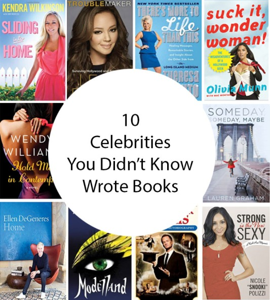10 Celebrities You Didn't Know Wrote Books