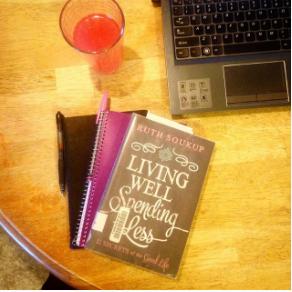 Living Well Spending Less instagram post
